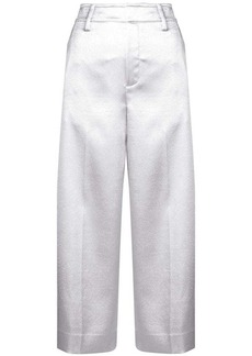 Vince wide leg cropped trousers