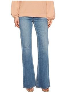 Vince Wide Leg Flare Jeans in Santa Fe