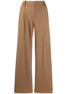 Vince mid-rise wide-leg trousers
