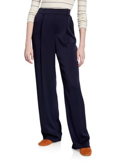 Vince Wide-Leg Pull-On Pants
