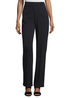 Vince Wide-Leg Wool-Blend Trousers