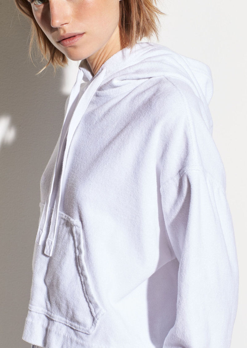 Vince Wide Sleeve French Terry Hoodie