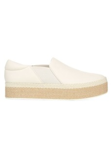 Vince Wilden Slip-On Leather Espadrille Sneakers