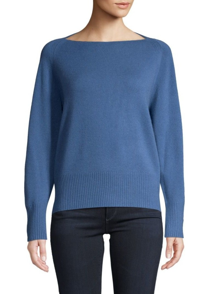 Vince Wool & Cashmere Boat-Neck Sweater