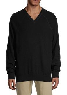 Vince Wool & Cashmere V-Neck Sweater