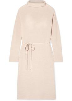 Vince Wool And Cashmere-blend Turtleneck Dress