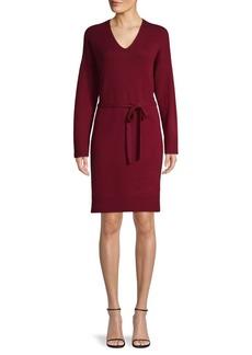 Vince Wool-Blend Knit Dress
