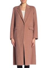Vince Wool Blend Long Coat