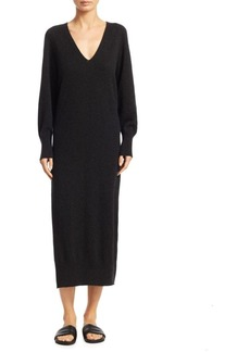 Vince Wool-Blend Midi Dress
