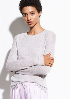 Vince Wool Long Sleeve Sweater Tee