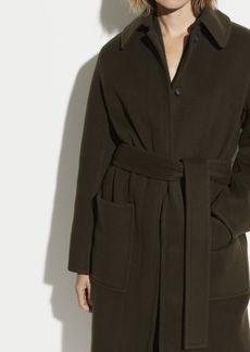 Vince Wool Patch Pocket Coat