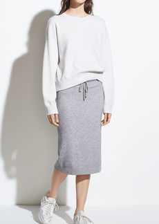 Vince Wool Sweater Skirt