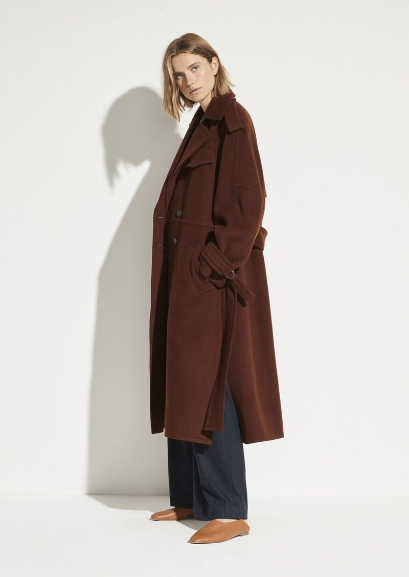 Vince Wool Trench