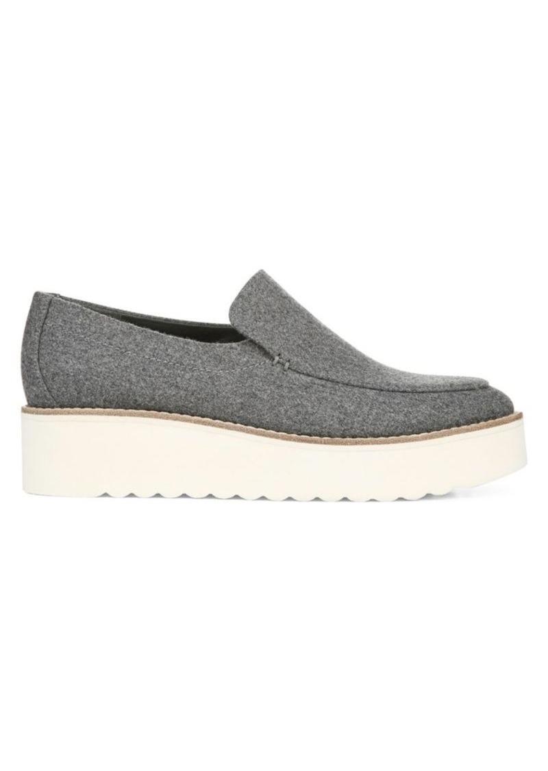 Vince Zeta Flannel Platform Loafers
