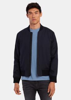 Vince Zip Up Bomber Jacket