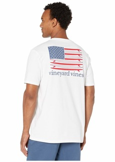 Vineyard Vines American Surfboard Flag Pocket Tee
