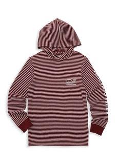 Vineyard Vines Baby, Little & Boy's Striped Logo Hoodie
