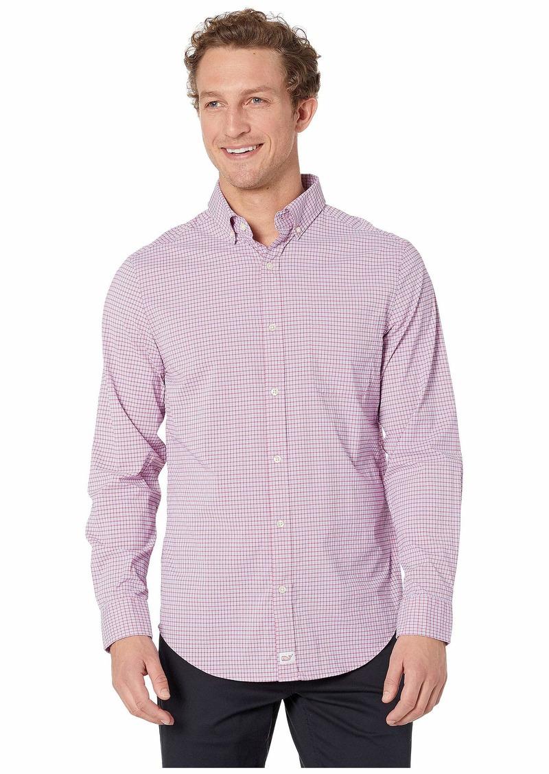Vineyard Vines Bavaro Check Performance Classic Murray Shirt