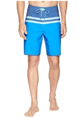 Vineyard Vines Bay Ridge Stripe Tech Boardshorts