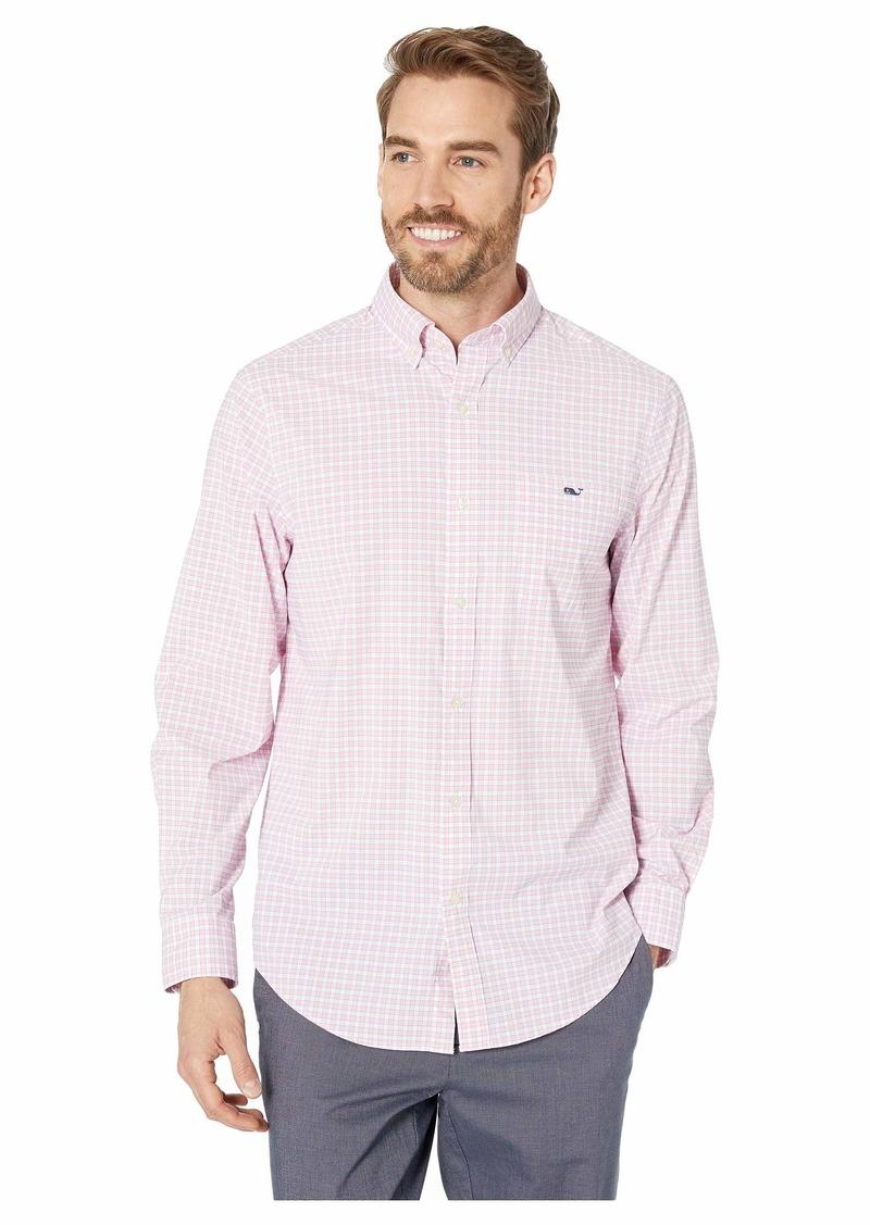 Vineyard Vines Bermuda Check Performance Classic Fit Tucker Shirt