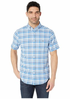 Vineyard Vines Blackbeard Plaid Short Sleeve Classic Tucker Shirt