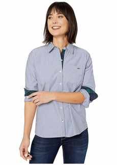 Vineyard Vines Blackwatch Stripe Relaxed Button-Down