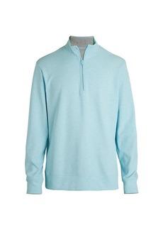 Vineyard Vines Blank Saltwater Zip Sweatshirt