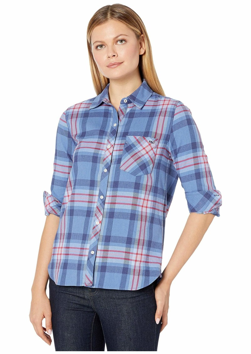 Vineyard Vines Bluffs Plaid Flannel Chilmark