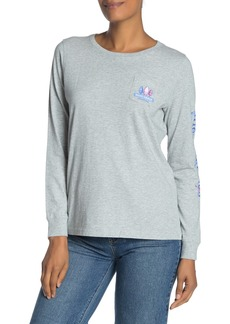Vineyard Vines Buoy Crazy Long Sleeve Pocket T-Shirt