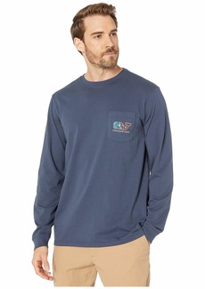 Vineyard Vines Camo Pheasant Long-Sleeve Pocket T-Shirt