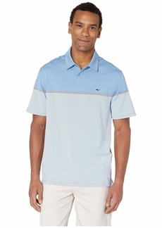 Vineyard Vines Caneel Bay Stripe Bowline Polo