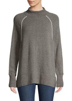 Vineyard Vines Cashmere Raglan Sleeve Turtleneck Sweater