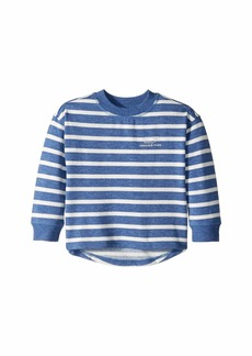 Vineyard Vines Cozy Stripe Whale Pullover (Toddler/Little Kids/Big Kids)