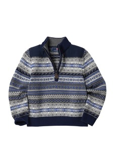 Vineyard Vines Fair Isle Half Zip Sweater (Toddler Boys & Little Boys)
