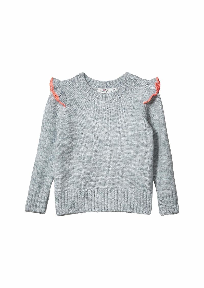 Vineyard Vines Flutter Sleeve Sweater (Toddler/Little Kids/Big Kids)