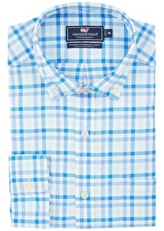 Vineyard Vines Greenbank Gingham Classic Murray Shirt