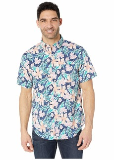 Vineyard Vines Guana Floral Short Sleeve Classic Murray Shirt