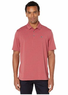Vineyard Vines Heather Kennedy Stripe Sankaty Polo