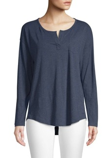 Vineyard Vines Heathered Henley Tee