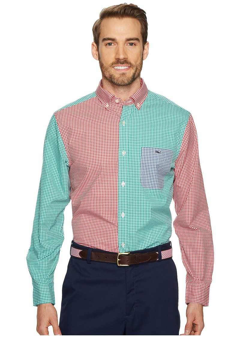 7ac89a21a1cae On Sale today! Vineyard Vines Holiday Party Classic Tucker Shirt