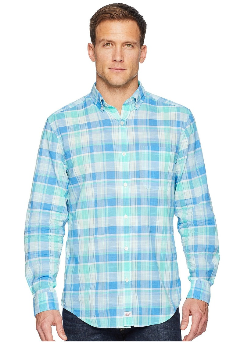 Vineyard Vines Homer Pond Plaid Classic Murray Shirt
