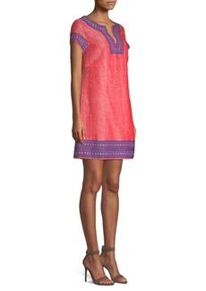 Vineyard Vines Jacquard Tunic Slip Dress