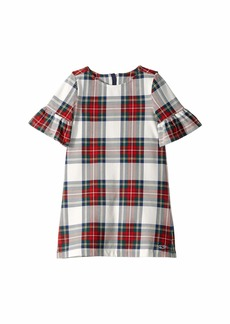 Vineyard Vines Jolly Plaid Ruffle Dress (Toddler/Little Kids/Big Kids)