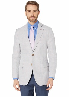 Vineyard Vines Linen Windowpane Blazer