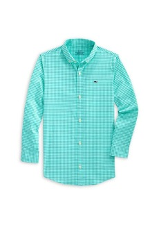 Vineyard Vines Little Boy's & Boy's Arawak Perfect Gingham Shirt