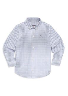 Vineyard Vines Little Boy's & Boy's Belle Haven Plaid Oxford Shirt