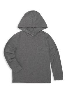 Vineyard Vines Little Boy's & Boy's Edgar Town Hooded Long-Sleeve Shirt