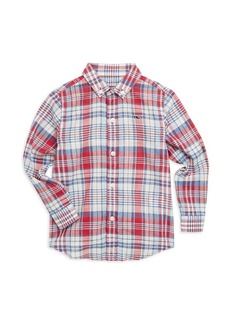Vineyard Vines Little Boy's & Boy's Firework Plaid Shirt