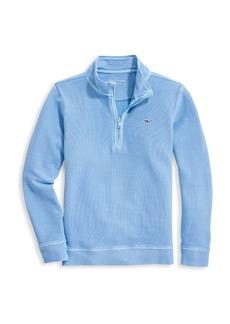 Vineyard Vines Little Boy's & Boy's Garment-Dyed Saltwater Half-Zip Pullover