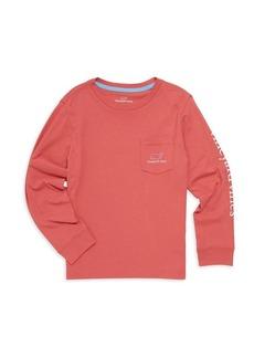 Vineyard Vines Little Boy's & Boy's Graphic Long Sleeve T-Shirt
